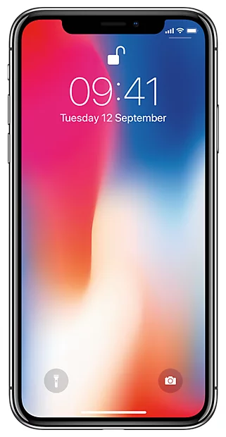 Apple iPhone X Space Grey 64 Gb